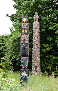溫哥華,Vancouver, Stanley Park, Totem Park, 圖騰公園