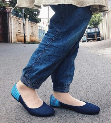 Sepatu Denim Makassar