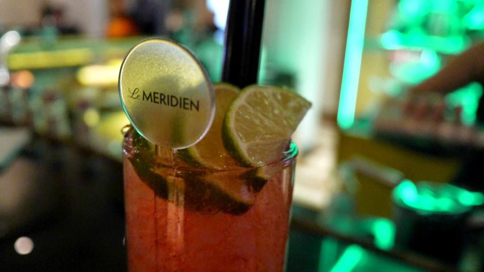 Le Meridien Budapest cocktails