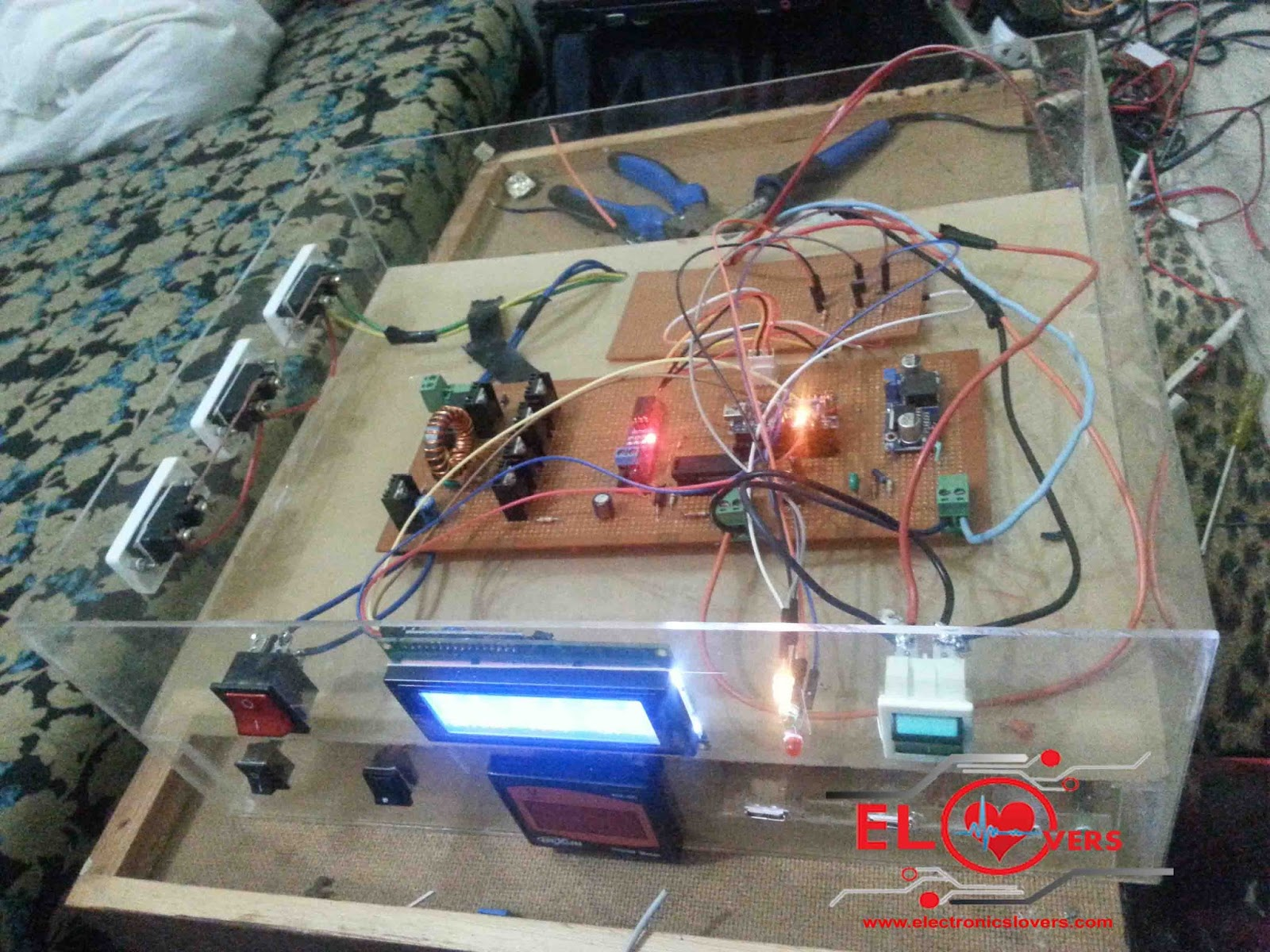 Home Made Maximum Power Point Tracking  MPPT  Charge Controller     MPPT Algorithm Charge Controller for Solar system