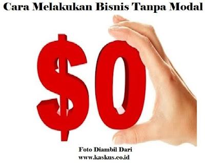 Bisnis, Info, Tanpa Modal