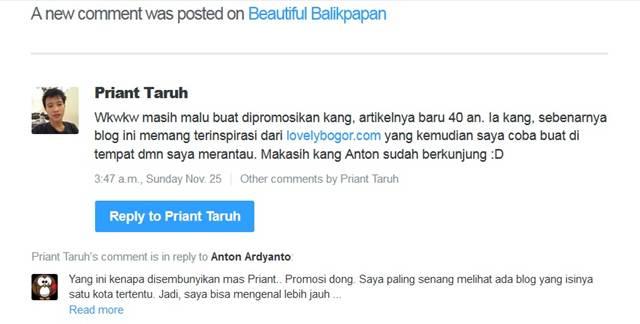 Beautiful Balikpapan - Kata Pengelolanya Terinspirasi Lovely Bogor