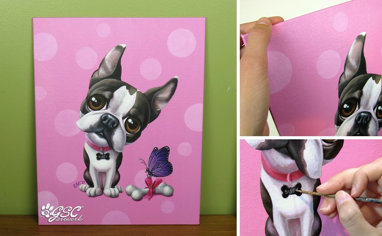 Gsc Artwork Blog New Cartoon Pet Portraits