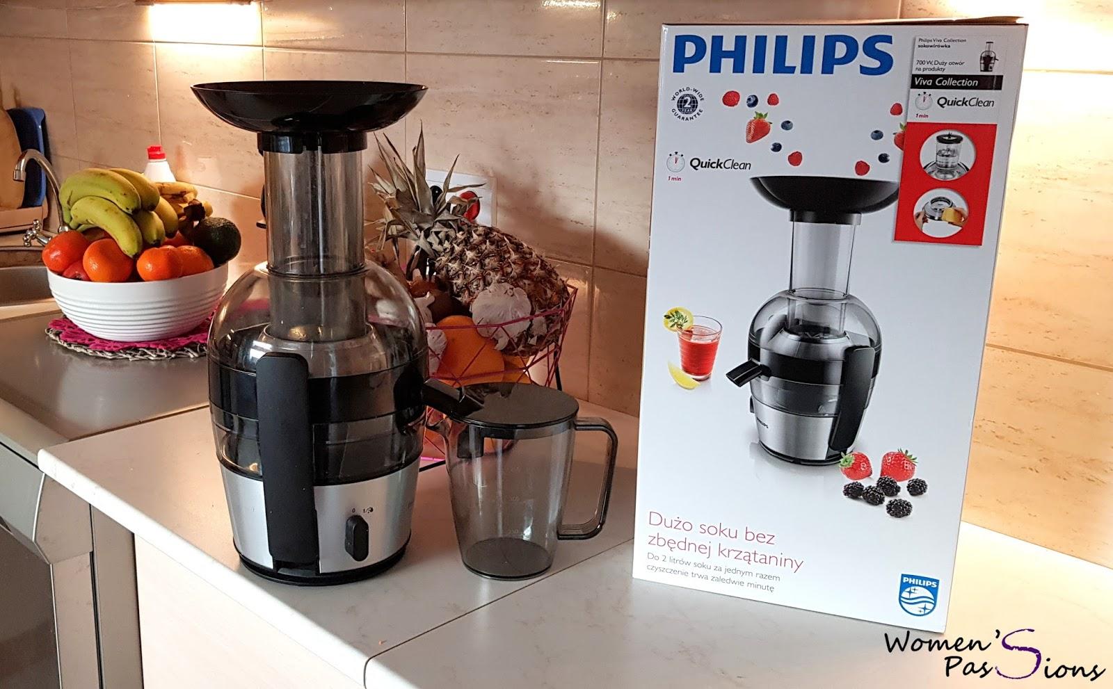 Women's passions: Philips | Sokowirówka szybkoobrotowa HR