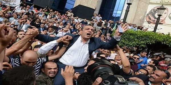 """منظمة العفو الدولية بعد حبس قلاش: """"قمع غير مسبوق لحرية الإعلام"""""""