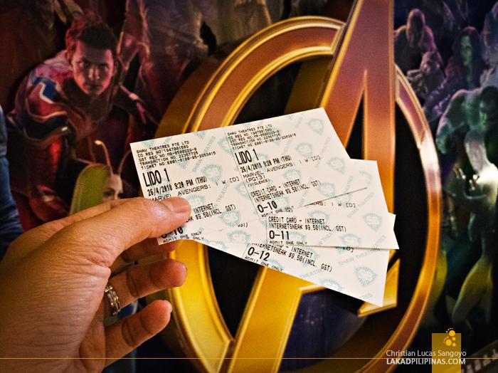 Avengers Movie Singapore