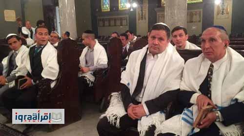 الفنان إدوارد بالزي اليهودي في مسلسل الجماعة الجزء الثاني
