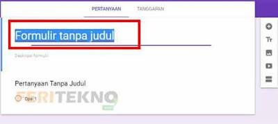 cara membuat kuesioner secara online dengan google form 2