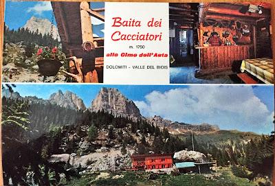 Postcard of Baita dei Cacciatori, m. 1790