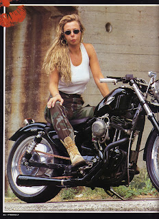 sportster all black on freeway magazine italia n 18 del 1995 pag 1