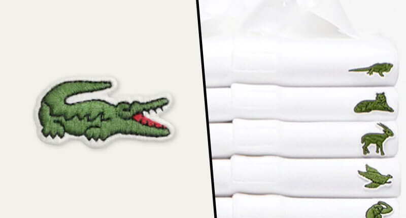 Lacoste Is Replacing Its Historic Crocodile Logo With Ten Endangered Species