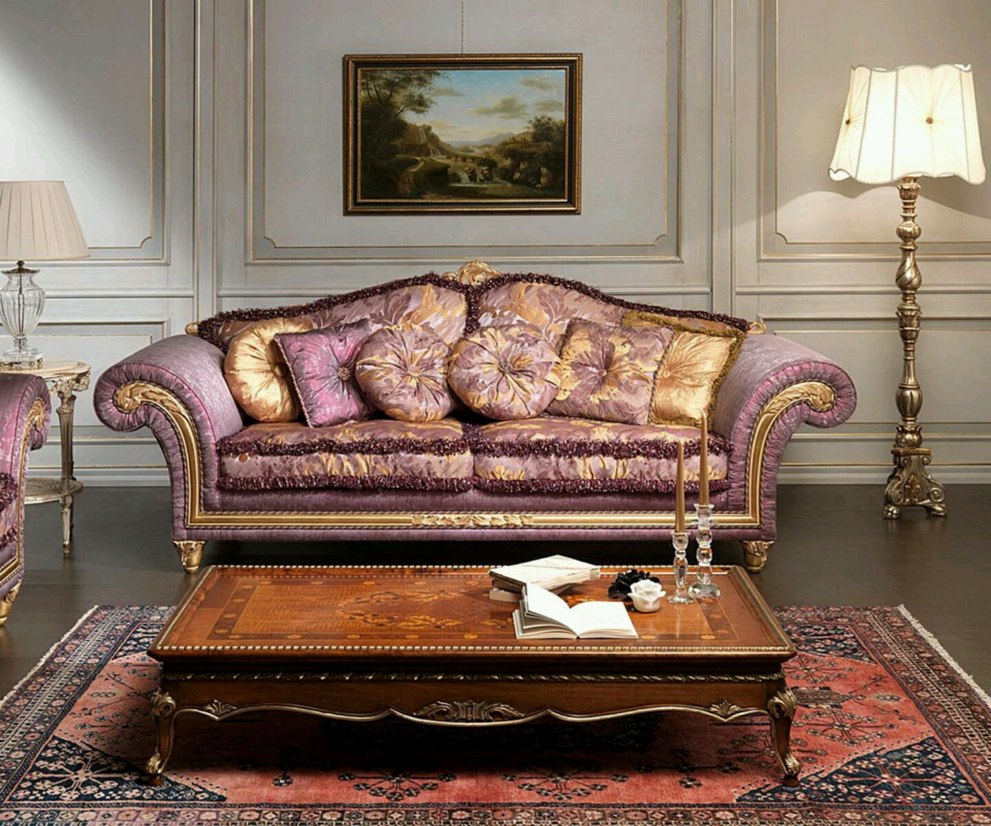Modern sofa designs with beautiful cushion styles ...