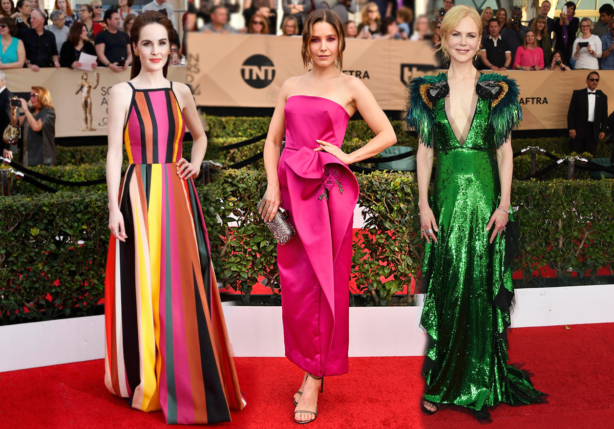 10 Glamorous Looks from the SAG Awards Red Carpet advise
