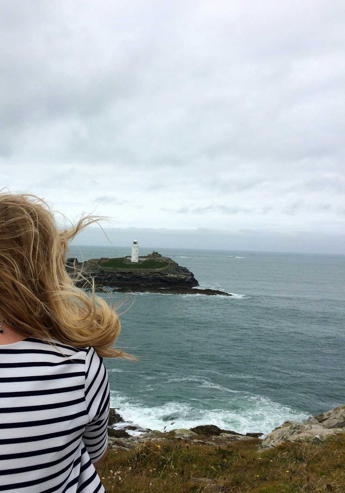 Godrevy lighthouse, Godrevy beach, Things to do in Cornwall, lifestyle bloggers, travel bloggers