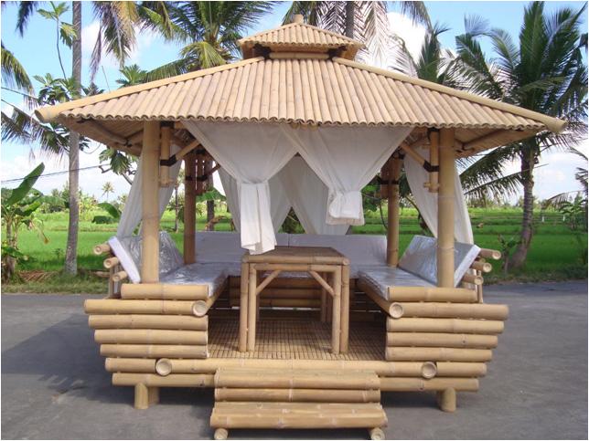 Decorilumina los atractivos muebles de bamb - Muebles de cana de bambu ...