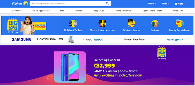 Flipkart Sale Last Day Is Today: Offers and Discounts On Mobile Phones, Laptops, LED TVs, And More