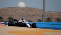 Lance Stroll Williams Martini Racing F1 2018