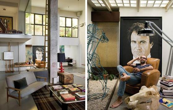 Art life decoart casa estudio de un pintor - Pintores de viviendas ...