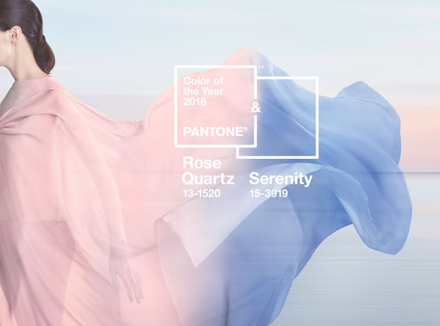 rose quartz serenity colors 2016