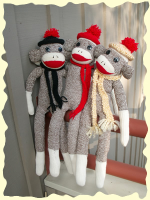 From Bleak To Chic How To Make A Sock Monkey