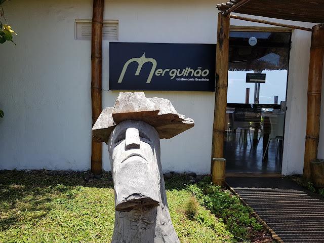 Entrada do Restaurante Mergulhão - Fernando de Noronha