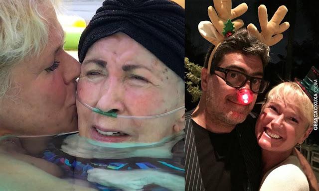Xuxa divide com fãs momentos de seu Natal