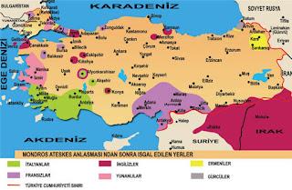 Birinci Dünya Savaşından Sonra Osmanlı Devletinin Durumu