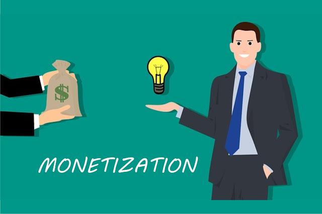 Menghasilkan uang darii blog