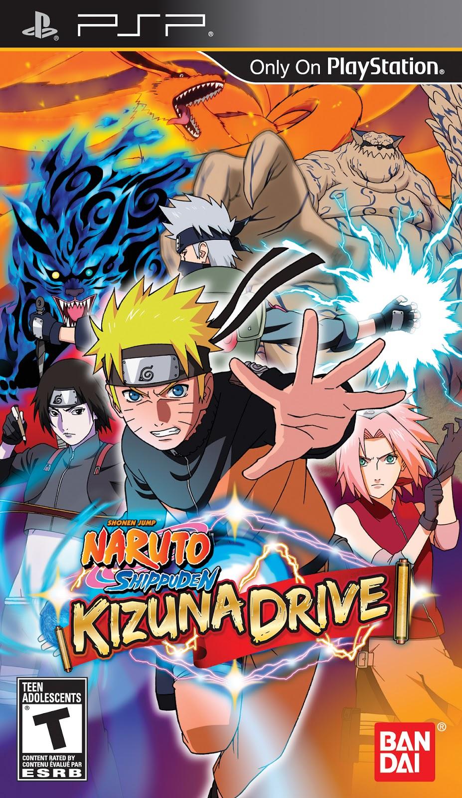 Psp Naruto Shippuden Kizuna Drive Ppsspp Free