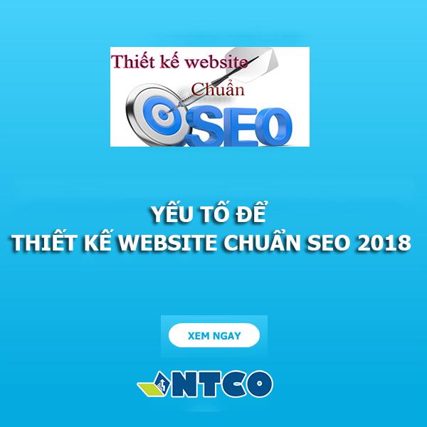 thiet ke web chuan seo