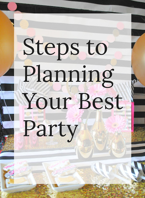 Steps to planning your best party
