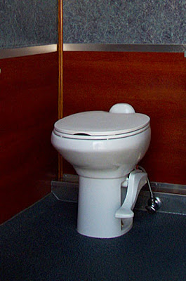 Newport 1100 flushing porcelain toilet