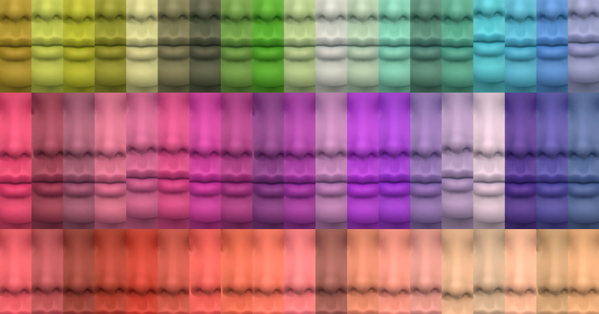 My Sims 4 Blog Smaller 59 Color Version Of 95 Skin