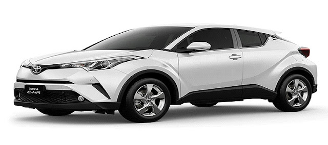 Melihat Toyota CHR dari Dekat