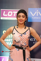 Actress Pranitha Subhash Pos in Short Dress at SIIMA Short Film Awards 2017 .COM 0096.JPG