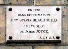 """12 rue de l'Odéon, """"shakespeare & company"""""""