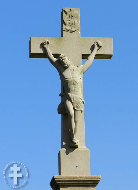 AMENONCOURT (54) - Croix de chemin (1822)