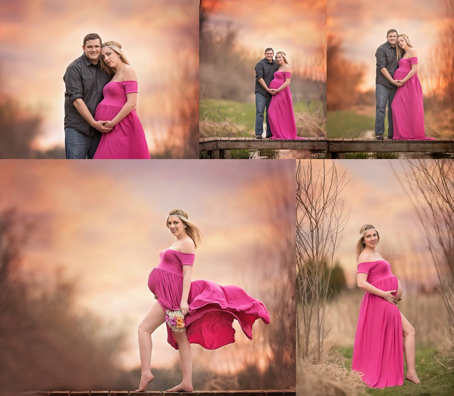 Stunning outdoor maternity images DeKalb Sycamore Geneva IL