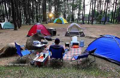 Paket Camping Super Gunung Pancar