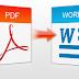 Ինչպես PDF ֆայլի ֆորմատը փոխել Word-ի և այլ ֆորմատների