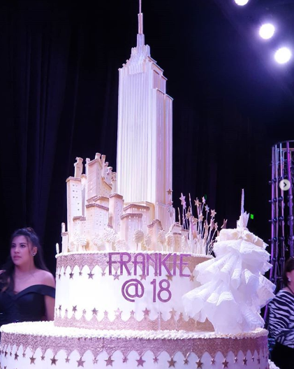 LOOK: Daughter of Sharon Cuneta And Sen. Francis Pangilinan celebrates her 18th birthday like a princess.