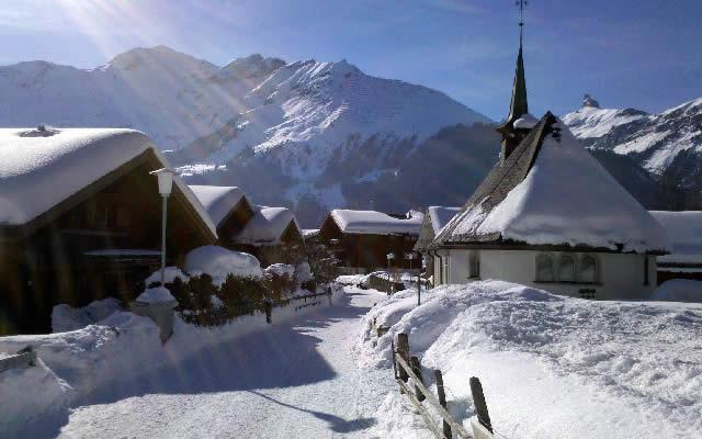 Wengen - Lauterbrunnen, Switzerland