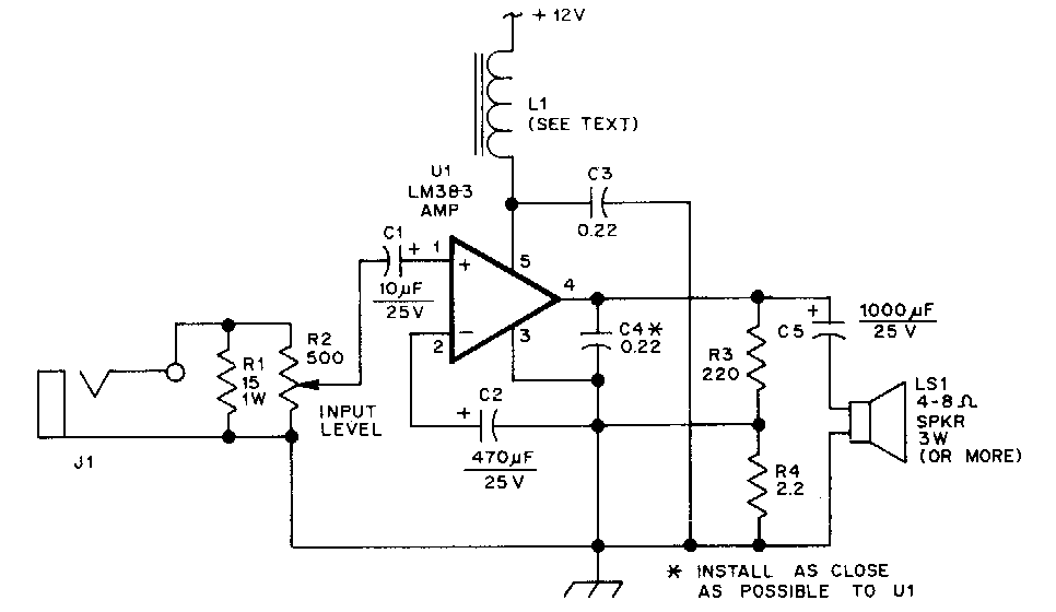 [DIAGRAM] Wiring Diagram Power Amplifier Mobil FULL