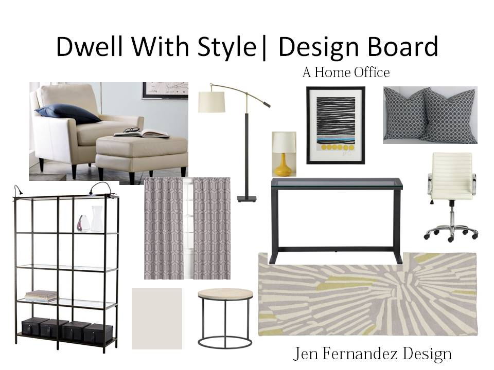 home design board dwell with style a home office design board 4523