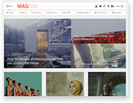 Stylish Zine - News WordPress Theme