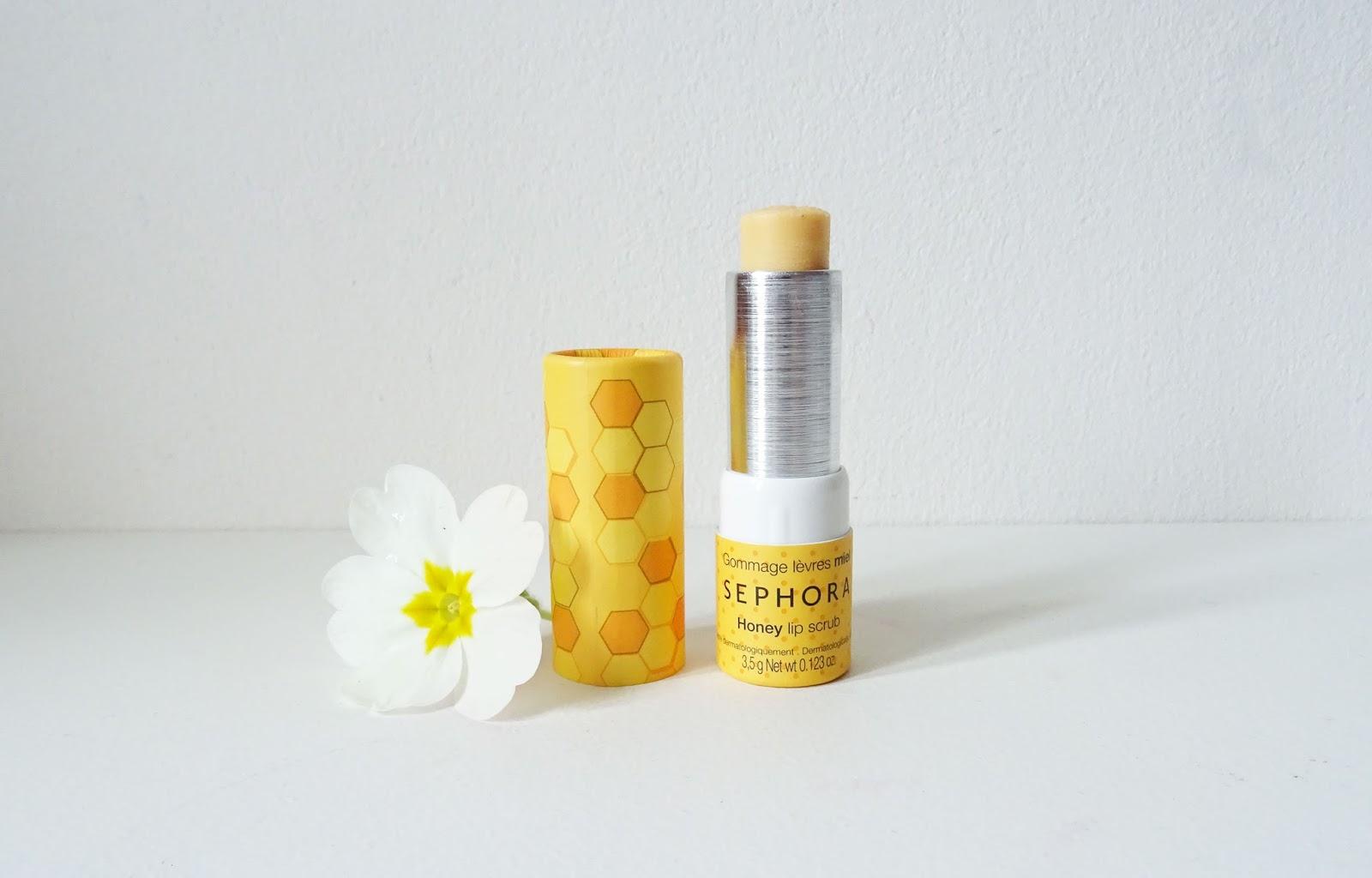 gommage lèvres au miel Sephora