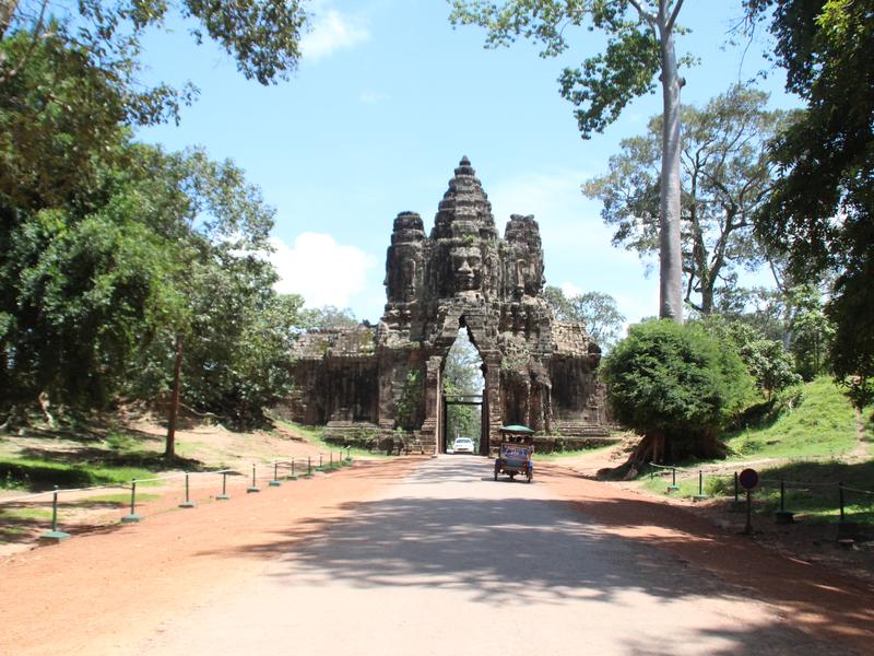 Victory Gate Angkor Thom Camboya
