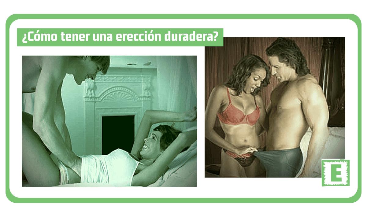 ¿Cómo tener una erección duradera?