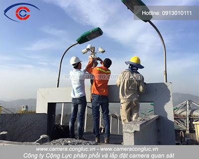 Kỹ thuật Camera Cộng Lực lắp đặt và nâng cấp hệ thống camera quan sát cho khách hàng.
