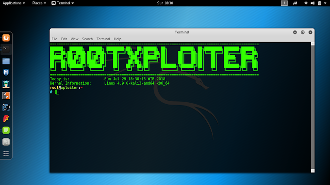 Tutorial Mempercantik Tampilan Terminal Kali Linux